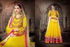 INDIAN NET DESIGNER SUITS LONG SALWAR KURTA DRESS INDIA