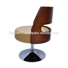 Anton Lessi Lounge Chair/Modern Fashion Office Chair/Swivel Wood Leisure Chair X6014AJ