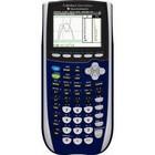 Texas Instruments TI-84 Plus C Graphing Calculator, Silver Edition, Dark Blue