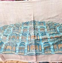 Pure Woolen Jamawar Shawls traditional indian warm shawl