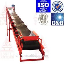 large capacity belt conveyor system electric motor conveyor 1000T/H TDY1400 unloading belt conveyor