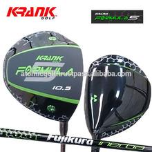 [US model golf driver] KRANK Golf FORMULA5 driver Fujikura Ltd. InertiaTour shaft