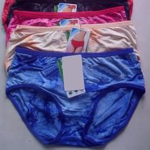 2015 bamboo fiber middle waist sex women hot panties