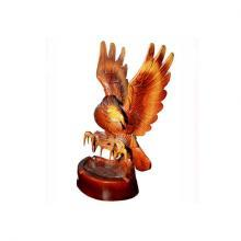 Hand-carved wooden Eagle 12 ""