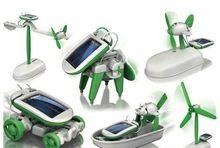6 in 1 solar toys play kit