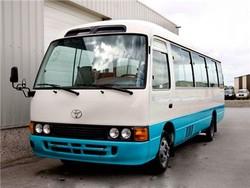2009 TOYOTA COASTER BUS: $9,000