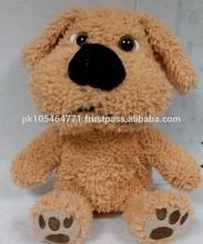 2015 talking dancing dog cute plush toys