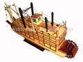 mississipi madeira modelo de barco barco de pesca