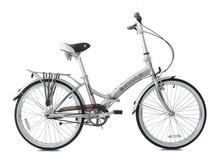 Top quality european design folding bicycle Kabi Coaster, 24 inch, Silver