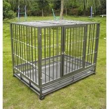 "BestPet 42"" Heavy Duty Dog Pet Cat Bird Crate Cage Kennel hs"