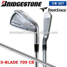 [golf iron set] Bridgestone Golf Tour Stage X blade 709 CB Iron Set 5 pcs (6-P) NS Pro 950GH weight flow steel shaft