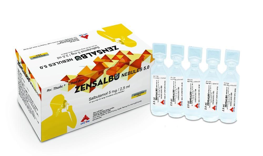 Ventolin Nebules Salbutamol 5 0 mg Nebules
