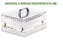 100 Capacities Manual Capsule Filler Filling Machine 000#-5# CN-100