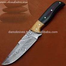 AWESOME CUSTOM HANDMADE DAMASCUS STEEL KNIFE
