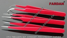 Eyelash Extension Makeup Tweezers / Straight / Pointed / Pro Straight / Curve / Semi Curve / X Type / A Type