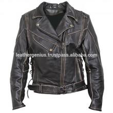 Genuine Leather Ladies Jackets