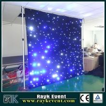 2015 xxx led star cloth/led star curtain,led backdrop