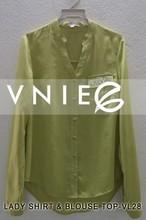 fashional design chiffon woman shirt new year