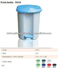Plastic Dustbin I0416, bin, bottle bank, garbage can, litter bin, pedal pin, rubbish bin, trash - Skype: cao.yen99