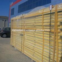 DANA Steel Corrugated/Flat Sandwich Panels - UAE-Qatar-Oman-Saudi-Bahrain
