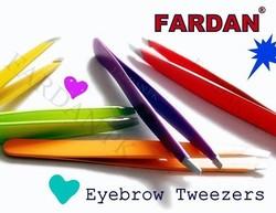 Manicure quality eyebrow tweezers