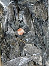 negro piedras preciosas en bruto cianita natural