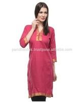 Designer Cotton kurti With Salwar/leggings