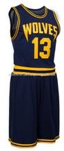 Basket ball kitt, Sublimation mesh fabric basket ball uniform,Sports wear