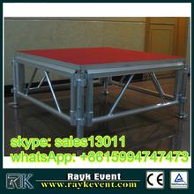 aluminium mobile stage,aluminium stage frame,folding stage with non-slip platform