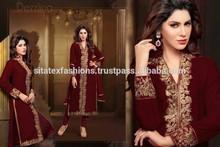 Traditional Twist Designer Dress Material