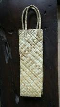 Lauhala Buri Wine Bag