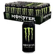 MONSTER ....ENERGY DRINKS 24 CAN
