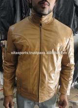 genuine leather jacket men motorcycle
