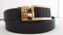 KHATOCO Ostrich Leg Leather Belts 3.5cm 03016, 115 cm