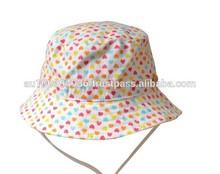 Baby's lovely heart design hat, Girl's summer hat, Infant girl's cute hat.MH-077
