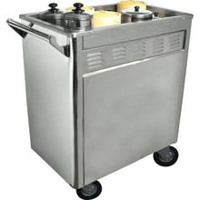 Town Food Service 36615 Dim Sum Cart, Removable Panels, Includes