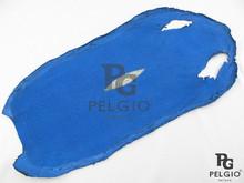 PELGIO Genuine Stingray Skin Hide Long Shape Blue