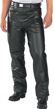 leather racing motorcycle perforated trouser