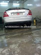 For Mercedes Benz W211 E55 AMG 2001-2006 Sedan Model Carbon Fiber Trunk Spoiler