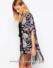 Apparel>>Sportswear>TENNIS WEAR kIMONOS & ROBES PONCHOS KAFTANS & KIMONO,S COTTON PRINTED