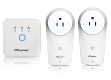 iSuper Zigbee Smart Power Plug Socket kit, smartphone controlled Intelligent home wall Plug Outlet