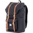 Little America Backpack Black, One Size