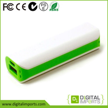 2015 high quality rohs ce fcc custom 2600mah power bank external battery charger for ht