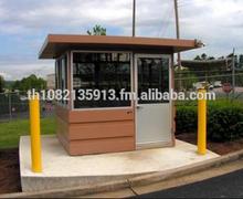 Modern Prefab Modular Guardhouse Sentry Box Custom Design Kit Building Eco Home