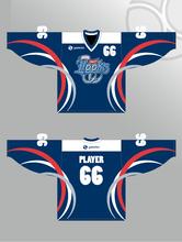 Sublimated ice hockey shirts