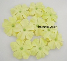 Yellow Jewels of Spring paper flower 6 pcs / 20 pcs / 50 pcs