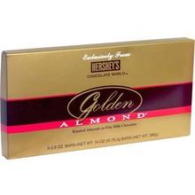 Hersheys chocolate de oro mundial de almendras- 5 pack
