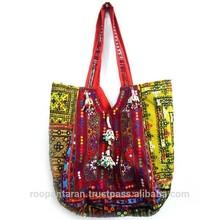 SHOULDER BAG Banjara embroidered by Indian Tribal Cluster SKU 6708