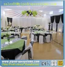 wholesale pipe drape adjustable aluminum backdrops event / party decoration