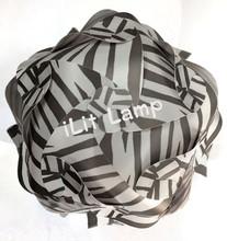 Zebra Black & White IQ lamp Jigsaw lamp Puzzle lamp